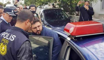 Arrest of Halil Karapaşaoğlu