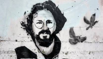 Graffiti of Halil Karapaşaoğlu by CRS